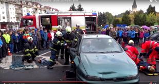 Dopravno-preventívny projekt pre ZŠ v Bardejove + ukážka záchrannej akcie