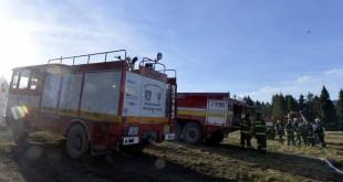 Hasenie požiaru na vrchu Ihla je v spolupráci s dobrovoľnými hasičmi veľmi efektívne