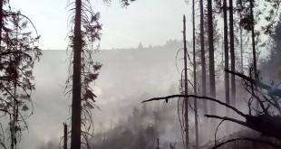 Hasiči majú požiar na vrchu Ihla pod kontrolou