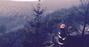 Požiar na vrchu Ihla je zlikvidovaný