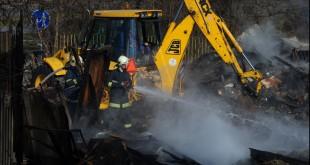 Hlohoveckí hasiči zasahovali pri požiari poľnohospodárskeho stroja