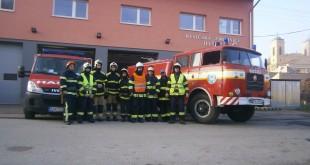 Previerkové cvičenie  Dobrovoľného hasičského zboru mesta Jelšava  a Banskej záchrannej stanice SMZ ,a.s. Jelšava