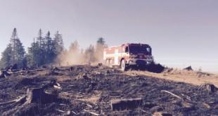 Hasiči budú v noci monitorovať požiarisko na vrchu Ihla