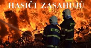 V blízkosti Helcmanoviec horí les, pomáhajú aj dobrovoľní hasiči