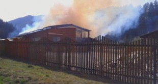 Požiar píly v Partizánskej Ľupči