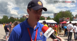 Železný hasič v Bánovciach nad Bebravou (reportáž)