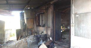 Požiar stolárskej dielne v obci Petrova Ves