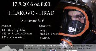 Železný hasič Novohradu – 17.9.2016 – Fiľakovo