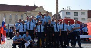 Víťazmi 8. ročníka Majstrovstiev SR vo vyslobodzovaní zranených osôb z havarovaných vozidiel sú opäť hasiči z Nitry