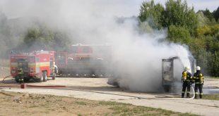 Prehľad požiarovosti v Slovenskej republike za mesiac august 2016