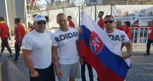 Slovenskí hasiči obsadili na Majstrovstvách sveta v bobovom trenažéri 10. miesto