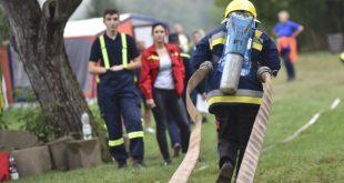 O titul Železného hasiča Novohradu 2016