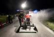 Hasiči zasahovali pri požiari elektromobilu, foto: pnky.sk