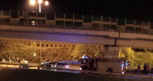 Na Mostnej došlo k dopravnej nehode, cesta je úplne uzavretá