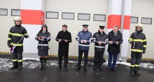 Slávnostné odovzdanie zrekonštruovanej hasičskej stanice v Liptovskom Mikuláši