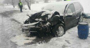 Sabinovskí hasiči dnes zasahovali pri dopravnej nehode so 6 zranenými