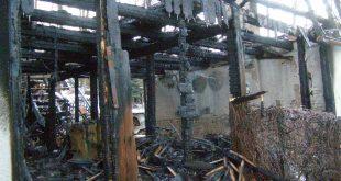 Požiar hospodárskej budovy za obcou Chtelnica