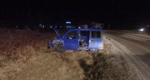 Dopravná nehoda pri obci Oslany