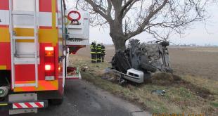 Pri dopravnej nehode v katastri obce Nová Dedinka sa zranilo 5 osôb