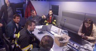 Bratislavskí hasiči nacvičujú na Devínskej Kobyle