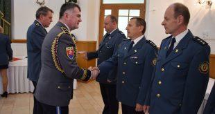 Oceňovanie príslušníkov Krajského riaditeľstva Hasičského a záchranného zboru v Košiciach