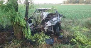 Požiar motorového vozidla v obci Jelka