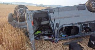 Dopravná nehoda pri obci Soľčany