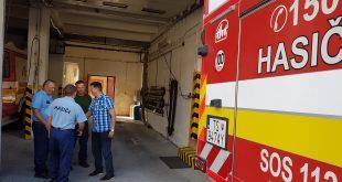 Štátny tajomník MV SR navštívil dobrovoľných hasičov na Kysuciach