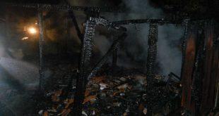 Pri nočnom požiari uhynulo 50 hospodárskych zvierat