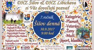 Denná súťaž Šišov 2017 – LIVE