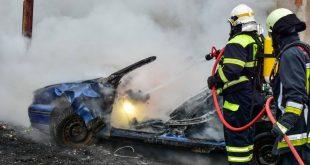 Výcvik dobrovoľných hasičov z obcí Korňa, Sučany, Turany, Kláštor pod Znievom, Vrícko a Martin-Priekopa