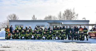 Výcvik dobrovoľných hasičov vo Výcvikovom centre HaZZ Lešť, 2. – 3. marca 2018
