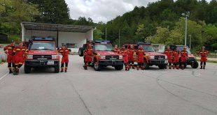 """Slovenskí hasiči na medzinárodnom cvičení """"SIGURNOST 2018"""" v Chorvátsku"""