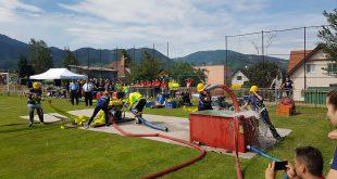 Na dobrovoľných hasičov čakalo Okresné kolo previerok pripravenosti