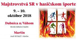 LIVE 46. ročník MSR v hasičskom športe – Štafeta 4×100 m s prekážkam