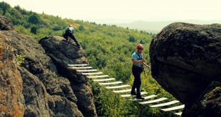 Lezecký výcvik hasičov z Nitrianskeho kraja