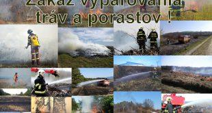 Prichádza obdobie zvýšeného výskytu požiarov v prírodnom prostredí