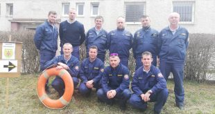 Výcvik Modulu záchrany pred povodňami s využitím člnov