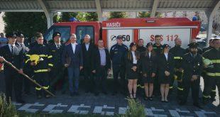 Vďaka podpore z EÚ si prevzali nové vozidlo dobrovoľní hasiči z Kanianky