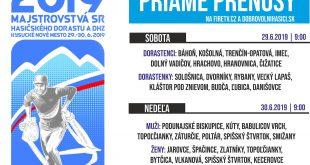 Majstrovstvá SR dobrovoľných hasičských zborov 2019, Kysucké Nové Mesto