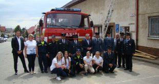 Dobrovoľní hasiči v Lendaku dostali repasovanú Tatru