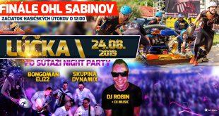 Finále OHL Sabinov – Lúčka 2019