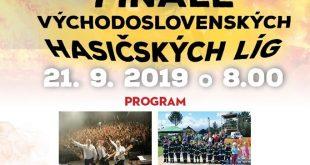 Finále Východoslovenských Hasičských Líg 2019