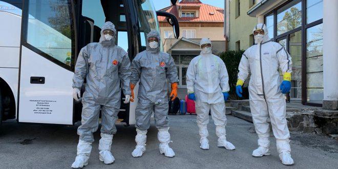 V karanténnom zariadení CÚZ Tatranská Lomnica pomáhajú aj členovia DHZO
