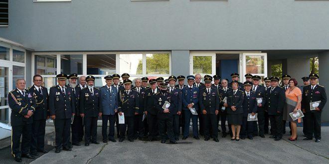 Odovzdávanie ocenení – Rád svätého Floriána a Rád čestného hasičstva