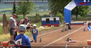 3 ročný účastník Slovenskej ligy v 60 tkach Hlušek Jakub