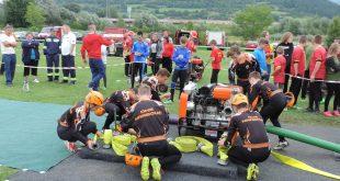 BDHL Hrabové 13.8.2016(Bytčianská detská  hasičská liga)