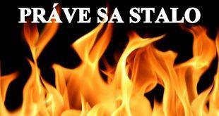 V Hankovciach hasia požiar družstevnej maštale