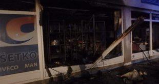 Pri rozsiahlom požiari budovy sa hasičom podarilo uchrániť majetok v hodnote 200 000 Eur