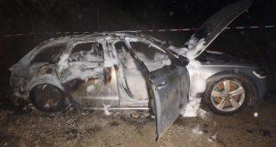 Požiar vozidla v Čadci neprežila jedna osoba